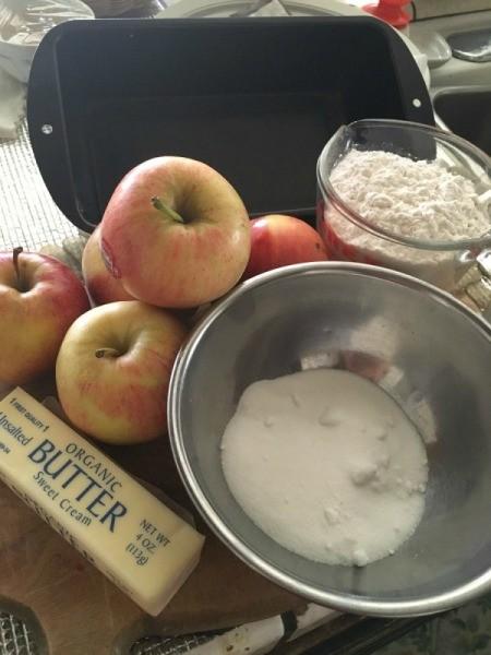 5 Ingredient Apple Tart