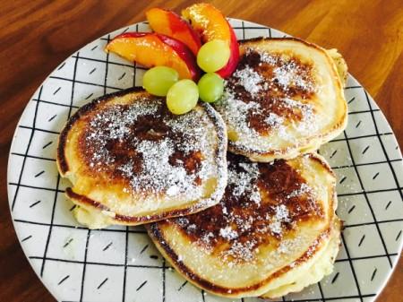 Easy Ricotta Pancakes