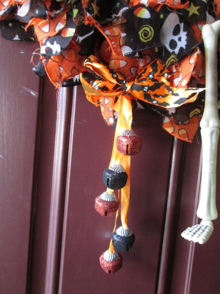 Halloween Scarf Wreath