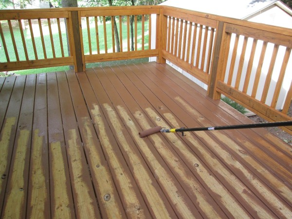 Refinishing A Wood Deck Thriftyfun