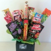 VHS Tape Candy Bouquet