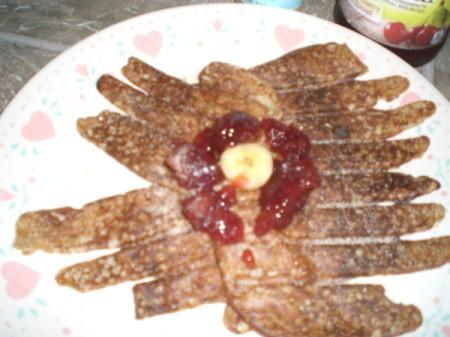 3 Ingredient Banana Pancakes