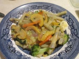 Summer Vegetable Stir Fry