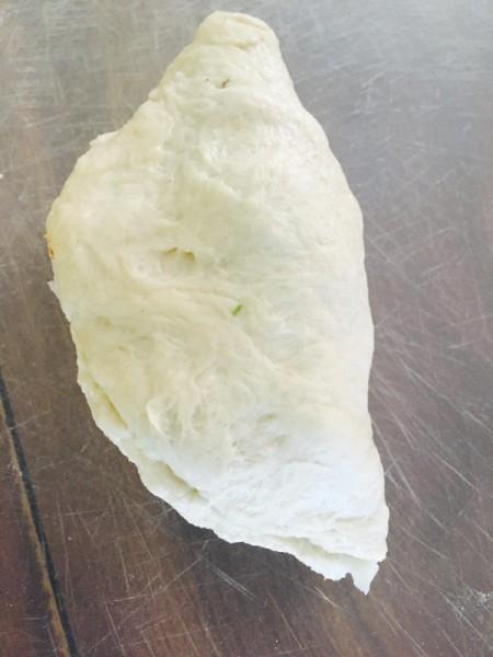 A folded empanada.