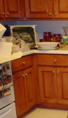 Cleaning grease from kitchen cabinets thriftyfun - How to remove grease stains from kitchen cabinets ...
