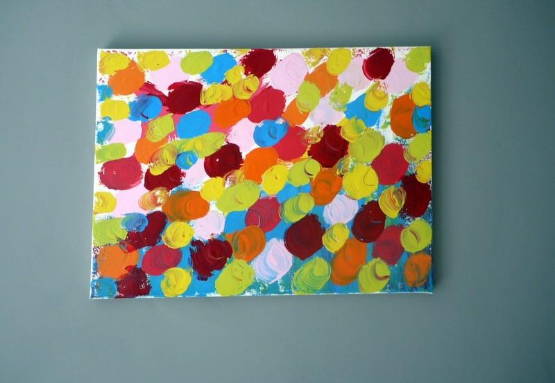 Paint Sample Wall Art Thriftyfun