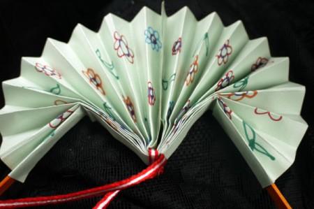 Making a Paper Fan