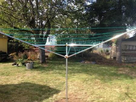Installing a Breezecatcher Rotary Clothesline