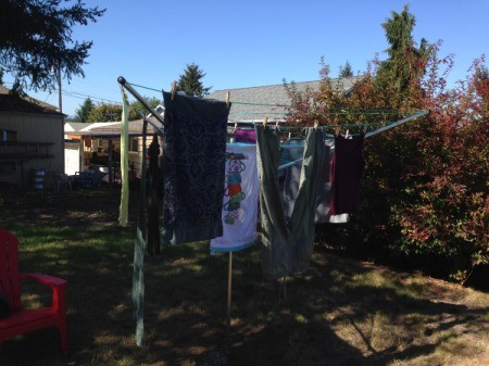 Product Review: Breezecatcher Rotary Clothesline