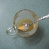 Honey and Lemon for a Cold
