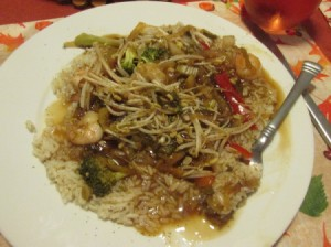 Chinese Shrimp and Vegetables