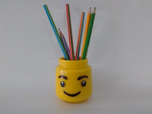 Making A Lego Pen Holder Thriftyfun