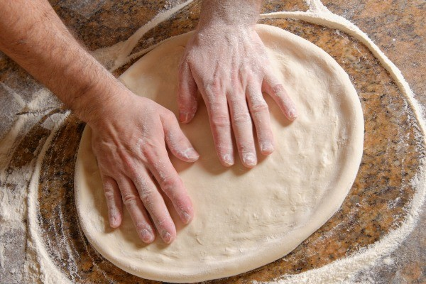 making pizza dough with self rising flour thriftyfun