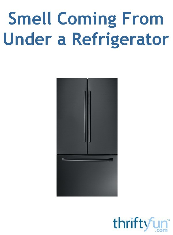 Smell Coming From Under A Refrigerator Thriftyfun