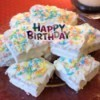 Easy Stacked Birthday Cakes