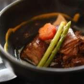 Braised Pork in Soy Garlic Sauce