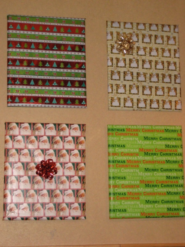 Wrapping Framed Pictures As Decoration Thriftyfun