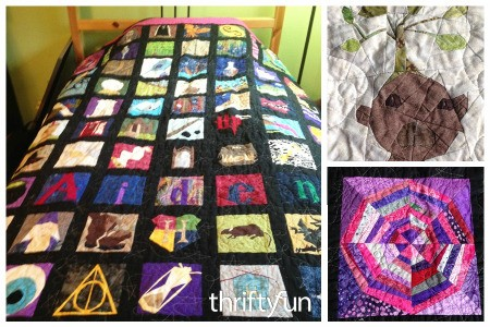 Harry Potter Paper Pieced Quilt