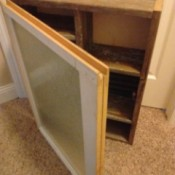 DIY Vintage Medicine Cabinet