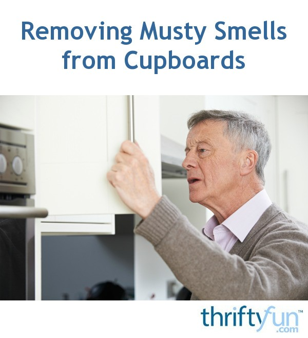 removing musty smells from cupboards thriftyfun. Black Bedroom Furniture Sets. Home Design Ideas
