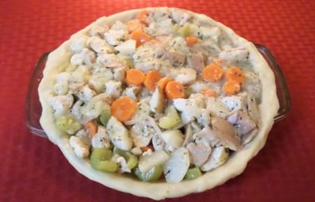 Sunday Dinner Chicken Pie