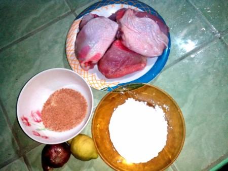 Glazed Crispy Chicken BBQ