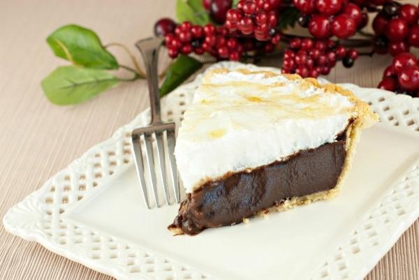 Gluten Free Chocolate Meringue Pie | ThriftyFun