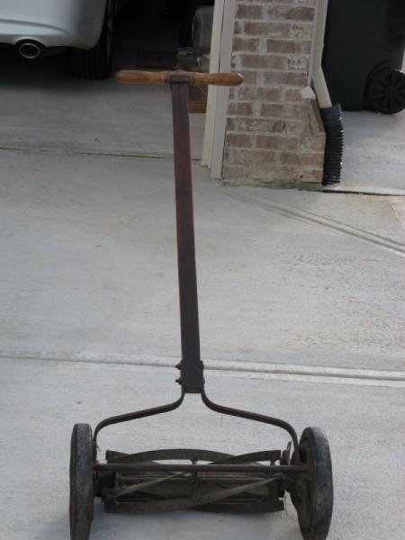 Value of Old Reel Mower