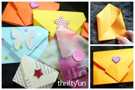 Making an Origami Envelope