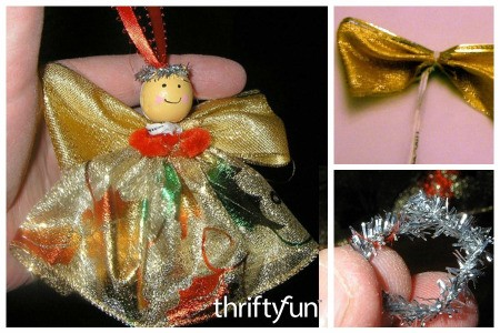 Making a Ribbon Angel