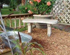 Making a Concrete Bench