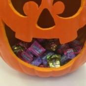 Jack-o'-lantern Candy Bowl