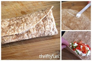 Sealing Tortilla Wraps