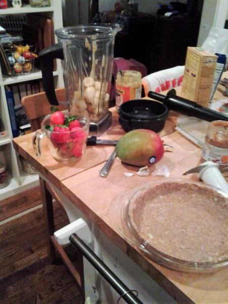 Fruit and Nut Raw Pie