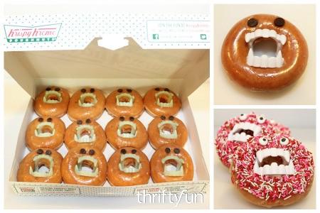 Making Monster Doughnuts