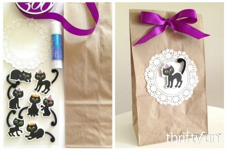 Halloween Kraft Treat Bag