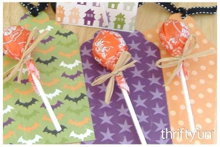 Lollipop Halloween Tag