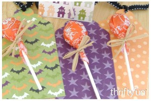Lollipop Halloween Tag