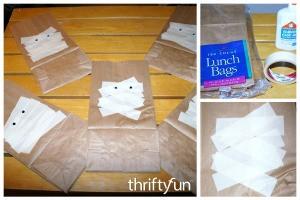 Making Mummy Gift Bags