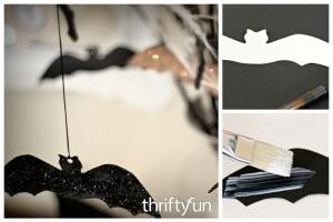 Halloween Bat Branches