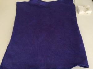 dark blue cleaning rag
