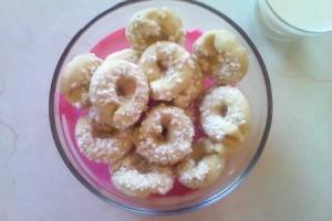 Norwegian Butter Ring Cookies