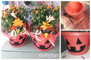 Halloween Hanging Basket