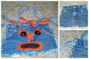 Blue Jean Halloween Tote