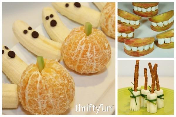 Healthy Halloween Treats | ThriftyFun