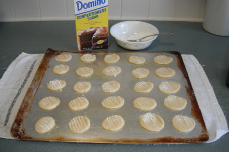 Making Thin Sugar Cookies