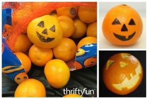 Making Jack-O'-Lantern Oranges