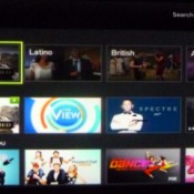A screenshot of Hulu Plus
