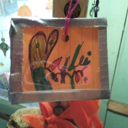 Children's Art Frame Ornament