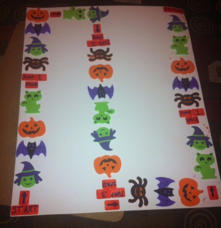 Holiday Pathway Board Game